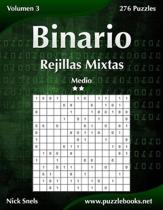 Binario Rejillas Mixtas - Medio - Volumen 3 - 276 Puzzles