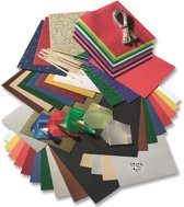 Folia Knutsel Papierpakket Winter Kerst A040069 - met schaar en lijm