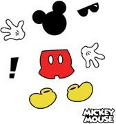Roommates Muurstickers Mickey Mouse Vinyl 9 Stuks