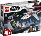 LEGO 4+ Star Wars X-Wing Starfighter Trench Run - 75235