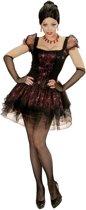 Vampier & Dracula Kostuum   Burlesque Vampier   Vrouw   Large   Halloween   Verkleedkleding