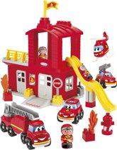 Ecoiffier Abrick brandweerkazerne