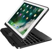 iPad 2018/Pro 9.7/2017/Air 2/Air 1 Toetsenbord hoesje - CaseBoutique Keyboard Case - Zwart - QWERTY Indeling