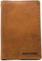 Hillburry - V88833 - 8057 - mapje voor autopapieren - bruin - leer