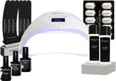 Gel Nagellak - UV lamp - MEANAIL®Starter kit - Base/Top Coat - Nude