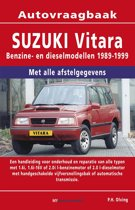 Vraagbaak Suzuki Vitara deel Benzine- en dieselmodellen 1989-1999