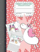 Primary Composition Notebook with Picture Space
