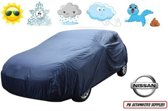 Autohoes Blauw Polyester Nissan Almera 5 deurs 2000-2007