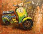 80x120 Groene Scooter