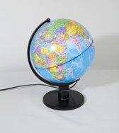 Wereldbol 25 cm met Licht - Educatief speelgoed