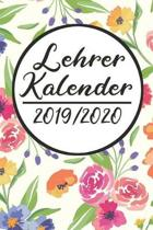 Lehrer Kalender 2019 / 2020: Lehrerkalender 2019 2020 - Lehrerplaner A5, Lehrernotizen & Lehrernotizbuch f�r den Schulanfang