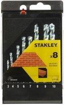 Stanley set van steenboren - 8 stuks