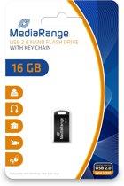 MediaRange Nano Flash Drive - USB-stick - 16 GB