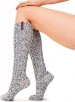 SOXS Yoga Sokken Dames Anti Slip - Mystical Purple label - Maat 37/41