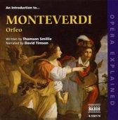 Introduction To Monteverdi Orfeo