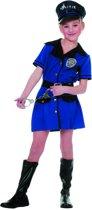 Carnavalskleding Politieagente meisje Police Maat 164