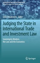 Judging the State in International Trade and Investment Law