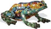Barcino Design kikker zittend multi-colored 10 cm