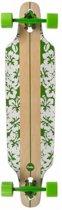 Choke Longboard Flower White Groen