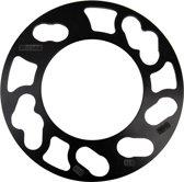 TPI Universele Spoorverbrederset 3mm - 4/5-gaats - Steekmaat 98->1143mm - Zwart (6mm/as)