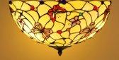 Tiffany plafondlamp Papillon 50 / 80