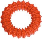 Flamingo Ring - Hondenspeelgoed - 12 cm - Oranje