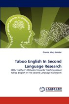 Taboo English in Second Language Research