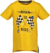 Blue Seven Jongens T-shirt - geel - Maat 104
