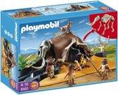 Playmobil Mamoetskelet Met Jagers - 5101