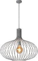 Lucide MANUELA - Hanglamp - Ø 65 cm - E27 - Grijs