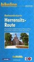 Radwanderkarte Herrensitz-Route (D/NL)