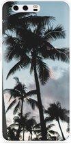 Huawei P10 Plus Hoesje Palmtrees