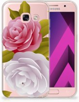 Samsung Galaxy A3 2017 TPU siliconen Hoesje Roses