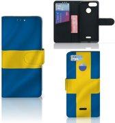 Bookstyle Case Xiaomi Redmi 6 Zweden