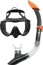Aqua Lung Sports Malibu + Vera Cruz - Snorkelset - Black