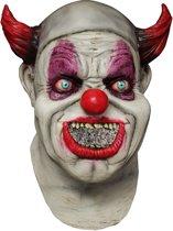 """""""Volledig Halloween masker van horror clown volwassenen - Verkleedmasker - One size"""""""