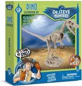 Dino Excavation Kit - Velociraptor Skeleton