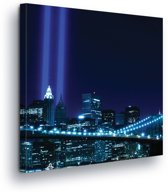 City Skyline Canvas Print 80cm x 80cm
