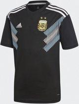 adidas Argentinie Uitshirt 2018 Kinderen - Black/Clear blue/White - Maat 176