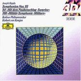 "Haydn*, Herbert von Karajan, Berliner Philharmoniker – Symphonies Nos. 93 / 94 ""Surprise"" / 103 ""Drum Roll"""