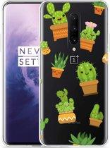 OnePlus 7 Pro Hoesje Happy Cactus