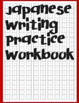 Japanese Writing Practice Workbook