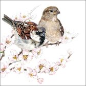 Ambiente papieren servetten  Sparrows Blossom