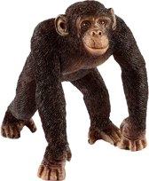 Schleich Mannelijke chimpansee 14817 - Aap Speelfiguur - Wild Life - 6,5 x 5,2 x 5,7 cm
