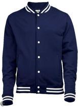 College Jacket, kleur Oxford Navy, Maat XL