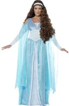 Middeleeuwse kostuum |  Blauwe prinsessenjurk maat S (36-38)