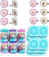 Set 24 Frozen™ cadeautjes - Feestdecoratievoorwerp