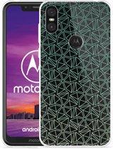 Motorola One Hoesje Triangles
