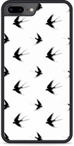 iPhone 8 Plus Hardcase hoesje Swallows