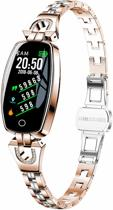 DrPhone Ladies Smartwatch - Smartwatch - Rose Goud